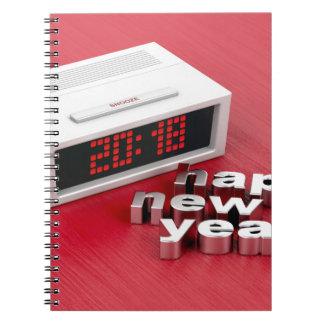 Caderno Espiral O feliz ano novo 2018