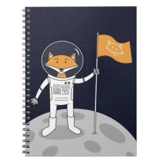 Caderno Espiral O Fox na lua