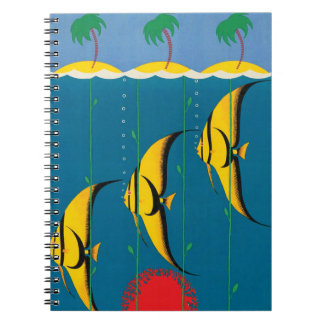 Caderno Espiral O grande recife de coral Austrália