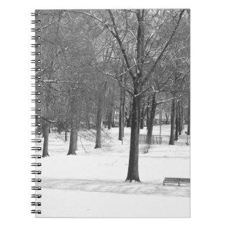Caderno Espiral O inverno está vindo