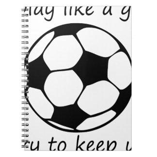 Caderno Espiral o jogo gosta de um girl3