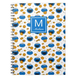 Caderno Espiral O monstro do biscoito | C é para o teste padrão do