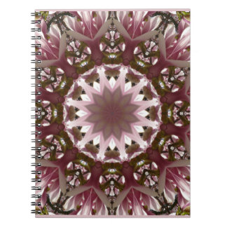 Caderno Espiral O primavera cor-de-rosa floresce 1,3, estilo