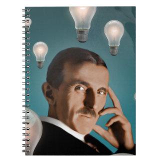 Caderno Espiral O sonho de Tesla