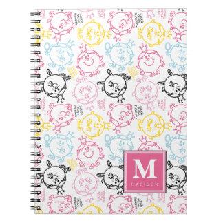 Caderno Espiral O teste padrão bonito | dos Pastels adiciona seu