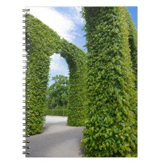 Caderno Espiral O verde deixa arcos