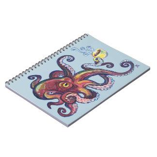 Caderno Espiral OctoCoffee