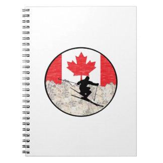 Caderno Espiral Oh Canadá