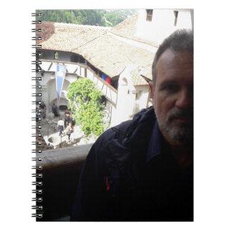 Caderno Espiral Olhar interno no castelo do farelo. Dracula?