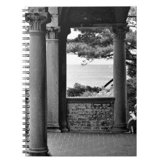 Caderno Espiral Opinião do lago