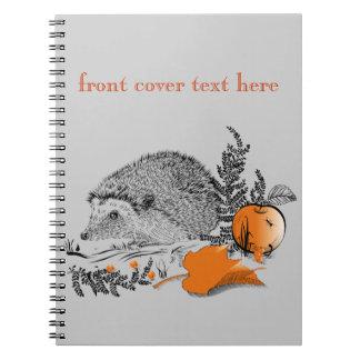 Caderno Espiral Ouriço