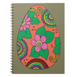 Caderno Espiral Ovo da páscoa