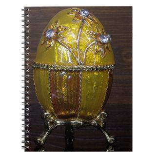 Caderno Espiral Ovo de jardim de Gloden