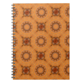 Caderno Espiral Oxidação-Mandala, cores de Rust_744_3
