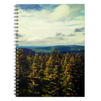 Caderno Espiral Paisagem natural