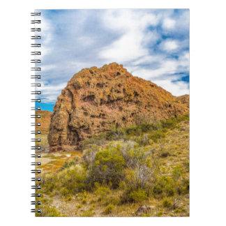 Caderno Espiral Paisagem Patagonian, Argentina