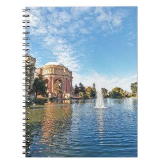 Caderno Espiral Palácio de San Fransisco das belas artes