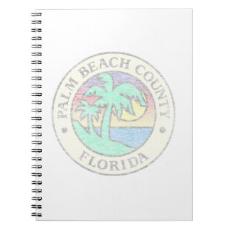 Caderno Espiral Palm Beach County