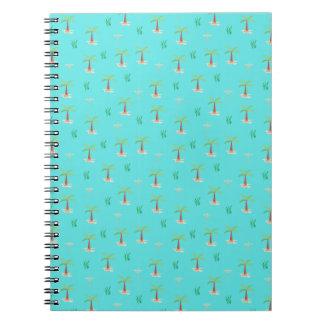Caderno Espiral palmeira