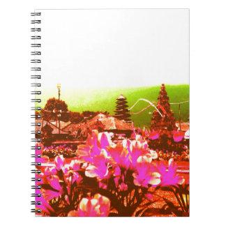 Caderno Espiral Paraíso da ilha de Bali