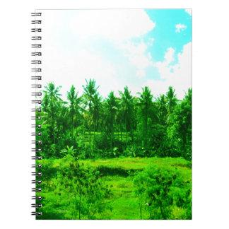Caderno Espiral Paraíso tropical
