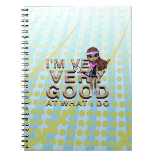 Caderno Espiral PARTE SUPERIOR muito boa em o que eu faço, tênis