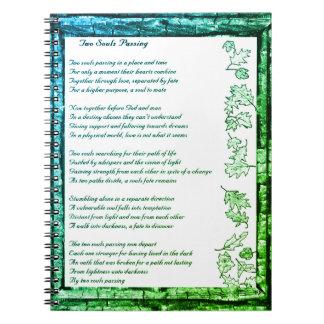 Caderno Espiral Passagem de duas almas
