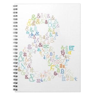 Caderno Espiral Pastels do Ampersand