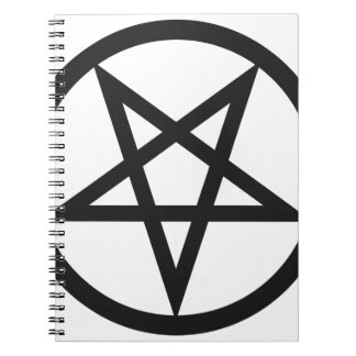 Caderno Espiral Pentagram corajoso