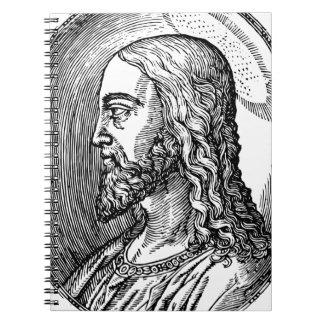 Caderno Espiral Perfil do Jesus Cristo