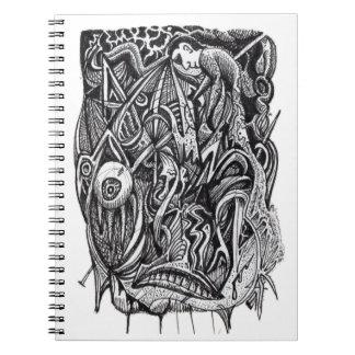 Caderno Espiral Perfurado, por Brian Benson