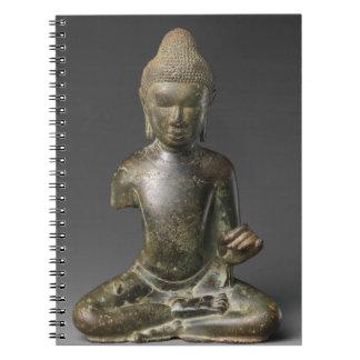 Caderno Espiral Período assentado de Buddha - de Pyu