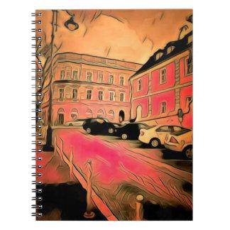 Caderno Espiral Pintura de Sibiu