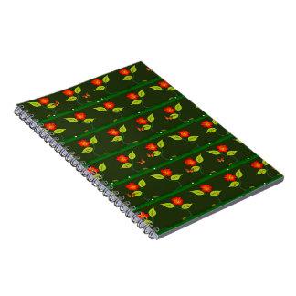 Caderno Espiral Plantas e flores