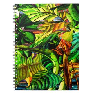 Caderno Espiral Plantas tropicais