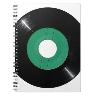 Caderno Espiral Png transparente do registro de vinil