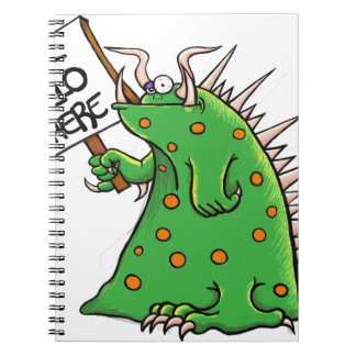 Caderno Espiral Poço do gráfico de Greep olá! lá
