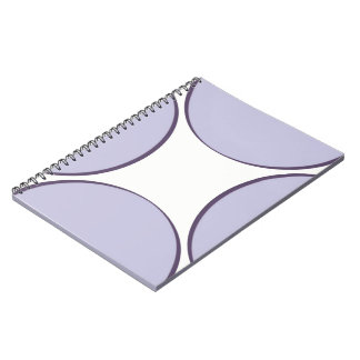 Caderno Espiral Ponto do Lilac