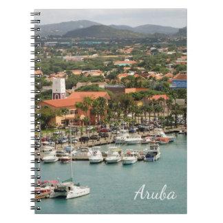 Caderno Espiral Porto de Aruba