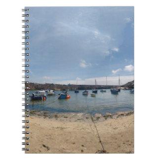 Caderno Espiral porto do marazion