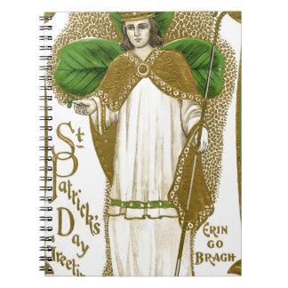 Caderno Espiral Poster velho bonito de patrick de santo