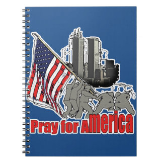 Caderno Espiral Pray para América