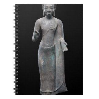 Caderno Espiral Preaching de Buddha