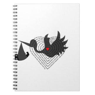 Caderno Espiral Presente do deus