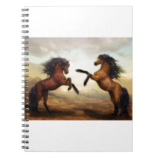 Caderno Espiral Presentes do cavalo