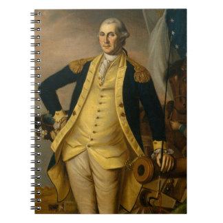 Caderno Espiral Presidente americano: George Washington