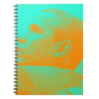 Caderno Espiral Presidente Barack Obama 4aa