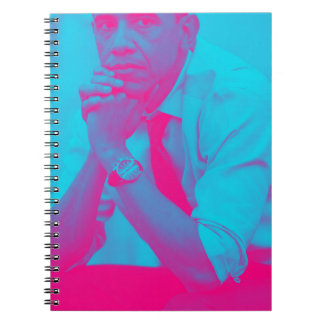 Caderno Espiral Presidente Barack Obama 8a