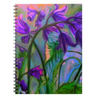 Caderno Espiral Primavera do Bluebell