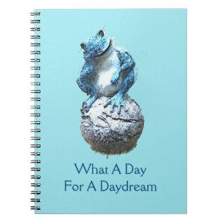 Caderno Espiral Que dia para um Daydream